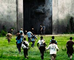 The Maze Runner movie stills