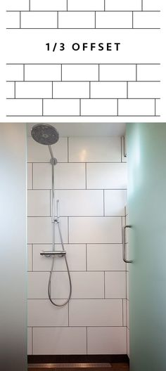 4040 Offset Subway Tile Layout Or Staggered Layout T I L E S In Simple 1 3 Staggered Tile Pattern
