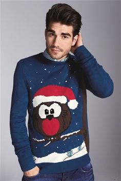 It's official – Christmas jumpers are cool. Sort of. Either way they're abs olutely brilliant, and this year's vintage are some of our best yet. Whether you're shopping for men's or women's sweaters, we've fashionable Rudolph noses, achingly cool snowmen and more.