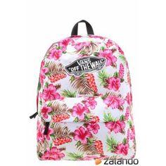 1f95bcccbe Vans REALM Plecak w różowe kwiaty hawaiian natural