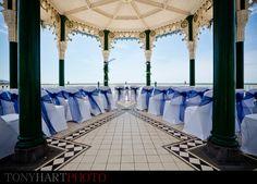 Brighton bandstand wedding <3