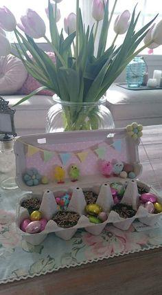Pääsiäisaskartelu Easter Crafts, Things To Do, Spring, Diy, Decor, Easter Activities, Things To Make, Decoration, Bricolage