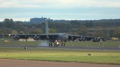 4x B-52 Stratofortress 60-0044 Yankee 21, 61-0029 Yankee 22, 60-0034 Thief 21 and 60-0005 Thief 22 arrived in Fairford, the UK on Sep. 9, 2020 🎬Film Credits: Base Loiter
