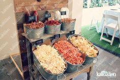 Mexican Weddings, Vintage Mexican Wedding, Mexican Wedding Decorations, Wedding Themes, Candy Table, Quinceanera, Wedding Snack Bar, Wedding Popcorn Bar, Mexican Candy Bar