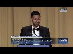 Hasan Minhaj goes in on Donald Trump, his family, administration at Correspondents' Dinner