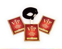 Red Carpet Name Tags (High Quality Printable PDF Pages) - INSTANT DOWNLOAD
