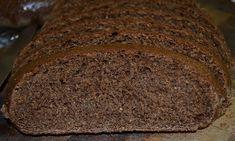 German Dark Rye Bread Recipe, Pumpernickle Bread Recipe, Bread Machine Rye Bread Recipe, Healthy Bread Recipes, Yeast Bread Recipes, Sourdough Rolls, Sourdough Recipes, Breads, Bakken
