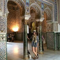 at the #realalcazar a #tile extravaganza! #azulejos #seville