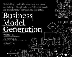 Business Model Generation - #BusinessModel Generation is a practical,inspiring handbook for anyone striving to improve a business model — or craft a new one. - #AlexanderOsterwalder. #Business #DesignOfBusiness #BusinessDesign #BusinessModel #entrepreneurship #MustRead