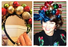 Nailed it!!!! Love my new headband for my ugly Christmas sweater party!!