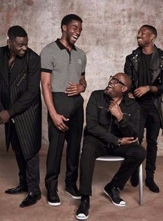 Black Panther cast...I can honestly say, I see why they hate (secretly admire) us and want to be us