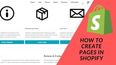 Shopify Tutorial How To Start a Profitable eCommerce Store Part 7 Cr. Iphone Watch, Create Page, Ecommerce Store, Business Gifts, Gift Guide, This Or That Questions, Quotes, Quotations, Quote