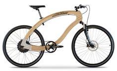 Wooden E-Bike, la primera bicicleta eléctrica en madera de fresno | Experimenta Urban Bike, Electric Transportation, Electric Cycle, Wood Bike, Industrial Design Sketch, Fat Bike, Kids Bike, Bike Frame, Fixed Gear