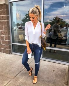 Womens fashion autumn fall looks jeans 56 Ideas Hipster Outfits, Casual Summer Outfits, Trendy Outfits, Fall Outfits, Cute Outfits, Fashion Outfits, Womens Fashion, Fall Dresses, Dress Casual