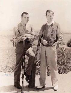 Robert Montgomery & Clark Gable                              …