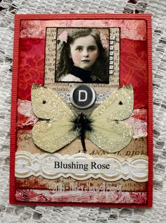 Blushing Rose by Sugar Lump Studios, via Flickr