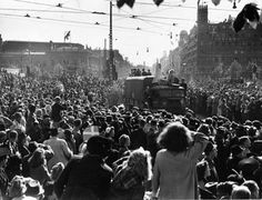 Denmark's liberation, May 5th 1945, from German occupation during World War II.