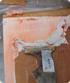 A great tutorial for stripping furniture | From design*sponge