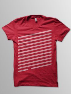 TW003 - Available at http://twinapparel.bigcartel.com/ striped T-shirt