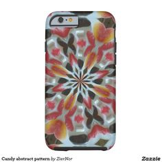 Candy abstract pattern tough iPhone 6 case