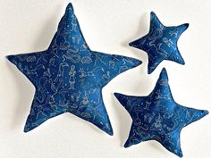 Star Shaped Pillow  Constellation by CecilClyde on Etsy, $55.00
