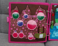 2 Quiet book pages  Car and Traffic roads PATTERN & by MirzaCrafts
