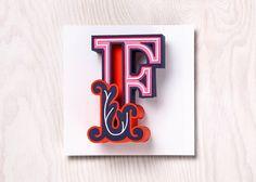 Favorites Typography by Snask – Fubiz Media