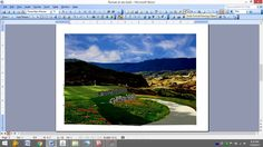 Drawing - Image Visual Design With Microsoft Office Word 2003