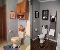 Bathroom Before and Afters!