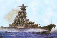 Yamato super dreadnought