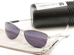 IC! Berlin Sunglasses Lore Chrome Stainless Steel Germany Made 60-13-135, 42 #ICBerlin #Aviator