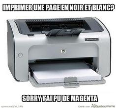Scumbag Imprimante