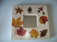 imagenes de espejos decorados con gemas - Buscar con Google Decoupage Art, Decoupage Vintage, Picture Wall, Picture Frames, Ikea Mirror, Diy Y Manualidades, Concrete Crafts, Mirror Mosaic, Ikea Hack