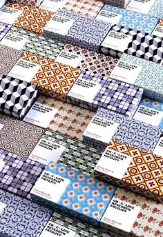 Tendance : pattern packaging