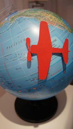 Avião percorrendo o globo terrestre! 030 by PraGenteMiúda, via Flickr