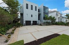 Contemporary Home Completed by Zynda Custom Homes & Remodeling, Inc.  Channel Dr, Naples, FL 34108