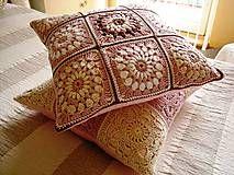 Úžitkový textil - Vankúšik Romantic - 5207787_