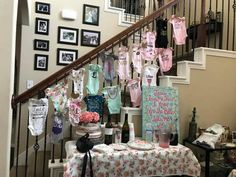 Your place to buy and sell all things handmade Outside Baby Showers, Deer Baby Showers, Girl Baby Shower Decorations, Baby Shower Favors, Onesie Decorating, Baby Shower Gender Reveal, Baby Boy Shower, Onesies, Kit