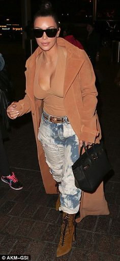 What's up? The Keeping Up With The Kardashians star hid behind a pair of sunglasses and se...