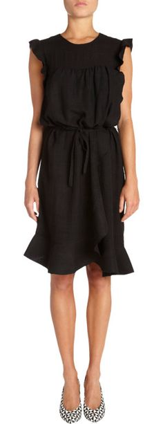 Isabel Marant Etoile Saba Dress. Cute dress in the most beautiful, soft fabric.