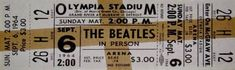 Olympia Stadium hosted concerts by The Beatles on September 1964 and August Olympia Stadium, The Beatles, Rock N Roll, Detroit, Michigan, September, Concerts, Rock Roll, Beatles
