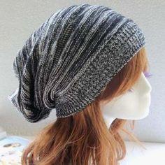 Stylish Color Block Elastic Knitted Hat For Women (BLACK) | Sammydress.com Mobile
