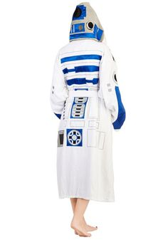 Beep bop boop. Translation = coolest robe ever! #r2d2
