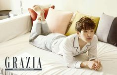 SHINee's Onew models a stylish natural look in 'Grazia' | allkpop