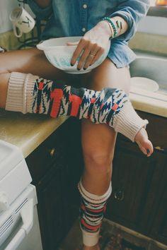 Aspen Lounge Leg Warmers by Three Bird Nest | Women's Bohemian Clothing