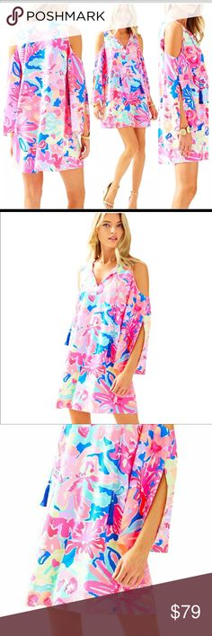 99809e9afb8f Lilly Pulitzer Multi Playa Hermosa Benicia Tunic Lilly Pulitzer Multi Playa  Hermosa Benicia Tunic Dress Size · Shoulder SleeveCold ...
