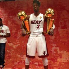 Two time #NBAfinals champion Dwyane Wade