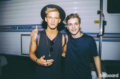 Martin Garrix and Cody Simpson