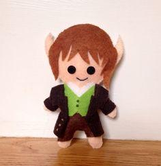 Bilbo Baggins Felt Plushie by sinnabunnycrafts on Etsy