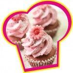 Red velvet cupcakes met frambozen crème